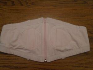 Simple Wishes Hands Free Breastpump bra light pink XS- M Ex.