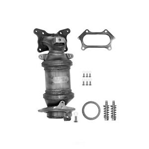 Exhaust Manifold with Integrated Catalytic Converter-Direct Fit Front fits CR-V