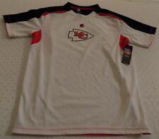 Kansas City Chiefs Jersey Shirt Youth XL Size 18 Nice Logos NFL
