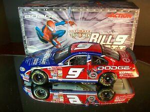 Bill Elliott #9 Dodge Dealers Marvel Spider-Man 2001 Dodge Intrepid R/T 1:24