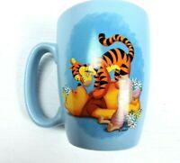Disney Store Winnie The Pooh Mug Blue Tigger Piglet 20 Oz Coffee Tea Cup