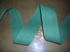 Band aus Leinen,  auch zum Sticken, hellgrün, 4 cm breit,  1,5 m lang