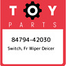 84794-42030 Toyota Switch, fr wiper deicer 8479442030, New Genuine OEM Part