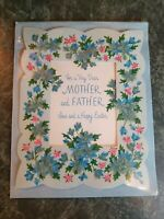 Fabulous Vintage 1960s Happy Easter Card for Mother & Father by Norcross