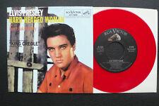 "7"" Elvis Presley - Hard Headed Woman  - USA RCA red Vinyl"