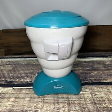 Rival Blizzard Ice Shaver Snow Cone Maker Blue Model Frrvisbz Tested Working