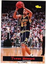 1994 CLASSIC VIP AUTO: JUWAN HOWARD - RC AUTOGRAPH MICHIGAN FAB 5/NBA ALL-STAR