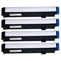 4 Multi-Pack NEW Black HY Toner Cartridge Lots For Oki OKIDATA B4400 B4550 B4600