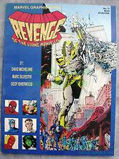 Marvel Graphic Novel 17 1st Print Revenge Living Monolith 1st Apocalypse WTC
