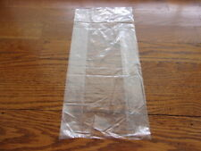 New listing 900 - 8 x 4 x 18 Clear Gusseted Open Top Poly Bags 8 x 4 x 18 - 1 Mil