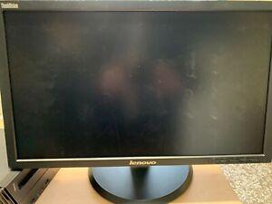 LENOVO THINKVISION LT2223pwc 22 pollici FHD LCD LED Monitor HDMI Come Nuovo