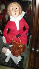 """Byers Choice Caroler """"THE NANNY """" * Great Details *New*"""