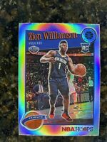2019-20 Panini NBA Hoops Premium Stock Zion Williamson Silver Holo Prizm RC SP