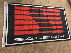 Saleen Ford Mustang Flag Performance 3x5' Flag Banner Man Cave Garage
