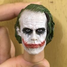 "1:6 HeadSculpt Batman Clown Police Bank Robber Head Carving For 12"" Male Figure"