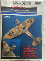 Aires 7080 Spitfire Mk.I detail set resin & etched 1/72