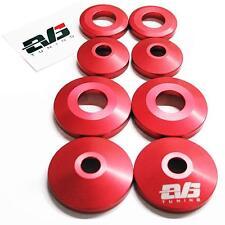 EVS Tuning Differential Mount Collars - Honda S2000 00+ AP1 AP2 S2K (RED)