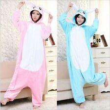 Unisex Adult Onesie1 Sleepwear Rabbit Kigurumi Pajamas Anime Cosplay Costume