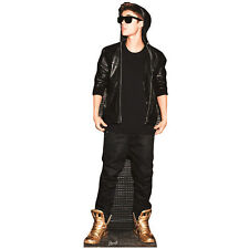 JUSTIN BIEBER Gold Shoes Lifesize CARDBOARD CUTOUT Standee Standup Poster
