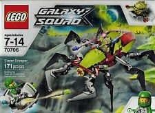 LEGO 70706 Galaxy Squad  Crater Creeper with 2 mini figures New and Sealed