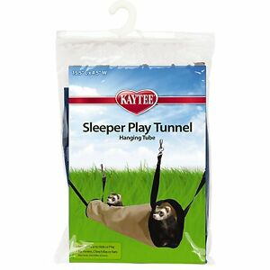 "SUPERPET SLEEPER PLAY TUNNEL 15.5"" X 4.5"" FOR CAGE SUPER PET TO USA"
