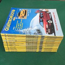Lotto 12 Riviste/Magazine QUATTRORUOTE ANNATA 1993 COMPLETA !!!