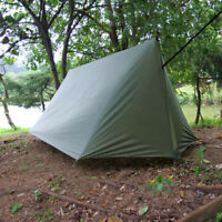 4 Personen Zeltplane, Wasserdicht Camping Zelt Tarp, Outdoor Picknickdecke mit
