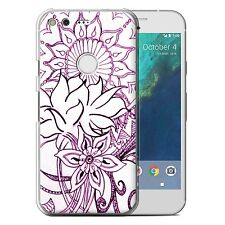 STUFF4 Phone Case for Google Nexus/Pixel Smartphone/Henna Paisley Flower/Cover