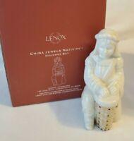 Lenox China Jewels Nativity Drummer Boy with BOX - Retired