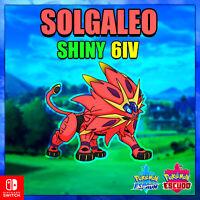 Solgaleo Shiny 100% Legal Pokemon Espada/Escudo 🚀ENTREGA EN 10 MINUTOS 🚀