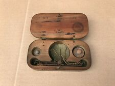 UNUSUAL APOTHECARY CHEMIST WEIGHING SCALES IN ORIGINAL BOX