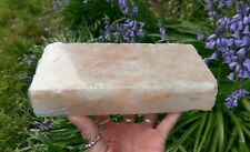 1 (ONE) XL HIMALAYAN SALT Block Slab Crystal Reiki Cooking Over 3.5 Lbs! *READ*