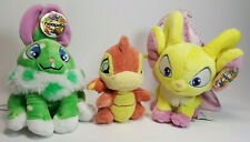 Neopets Plush Baby Scorchio, Speckled Cybunny, Faerie Acara Lot of 3 ALL W/ TAGS