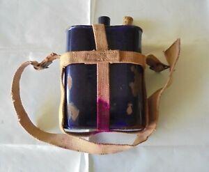 Enamel Vintage Metal Water Bottle
