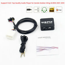 TOP AUDIO QUALITY Digital CD Player Changer for Honda Goldwing GL1800 2001-2010