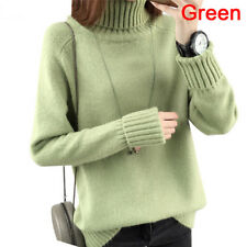 9a6d0dfa5 Warm Turtleneck Sweater Women s Jumper Sweaters Pullovers Knitted SweaterFEH