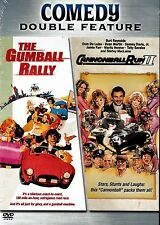 NEW DOUBLE FEATURE DVD // GUMBALL RALLY + CANNONBALL RUN II - DEAN MARTIN, BURT