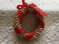 Wreath Ornament Wheat Weaving Straw Craft Wreath Decor