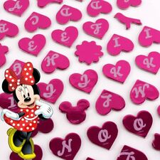 DISNEY PINK MINNIE MOUSE STICKERS Personalised Letter Number Door Name Plate