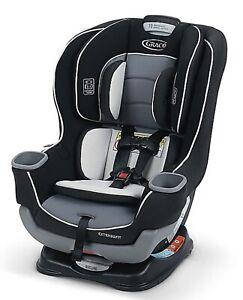 Graco Extend2Fit Adjustable Convertible Car Seat Gotham Ride Rear Facing Longer