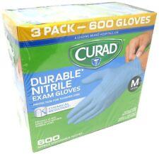 Curad Powder Free Latex Free Medical Grade Exam Glove Nitrile Qty 600 Medi