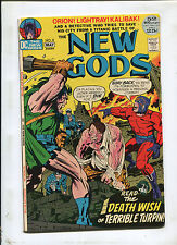 THE NEW GODS #8 (8.5) THE DEATH WISH OF TERRIBLE TURPIN!  1972