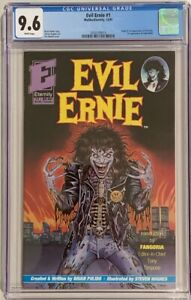 Evil Ernie #1 (1991, Eternity) CGC 9.6 WHITE Pages - 1st Evil Ernie & Lady Death
