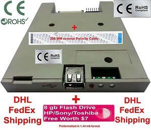 Slim Floppy drive Emulator Lecroy Oscilloscope Tektronix TDS3014 TDS3054 Agilent