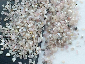 5 Carats, Pink Raw Uncut Diamond Dust, Conflict Free