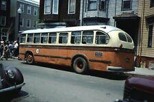 MTA Brill bus Kodachrome original Kodak slide