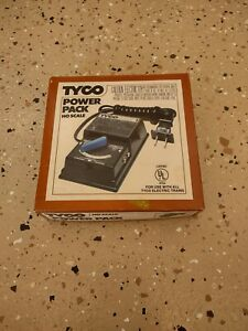Tyco Transformer Power pack supply ho scale 1982