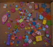 Huge FASHION POLLY POCKET DOLL Dollhouse Furniture Cart pet collar Accessory Lot