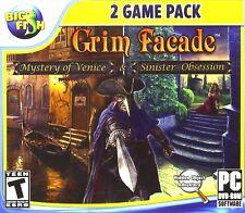 Grim Facade 2 Game Pack PC Games Windows 10 8 7 XP Computer hidden object seek
