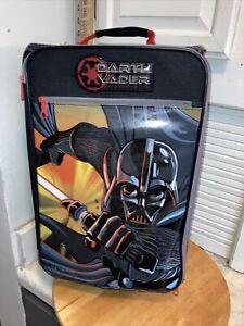 """Darth Vader Star Wars 18"""" Pilot Case Rolling Carry-On Bag Travel School Backpack"""